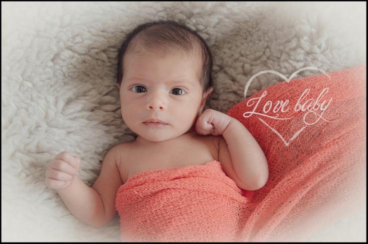 sesiones newborn fotografía bebes - Love baby
