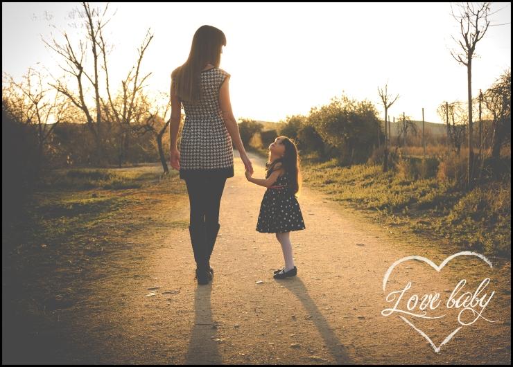 Reportaje fotografía exteriores - love baby